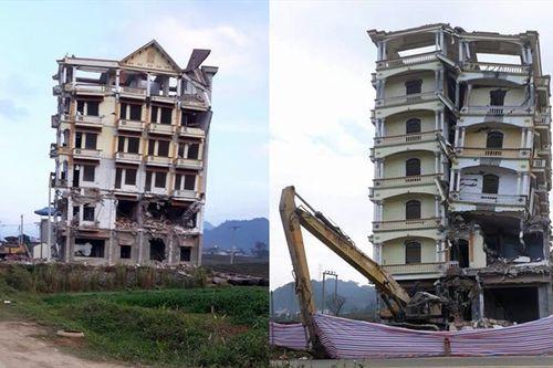 """Phá hủy tòa nhà 7 tầng của trùm ma túy Tàng """"KeangNam"""" - Ảnh 1"""