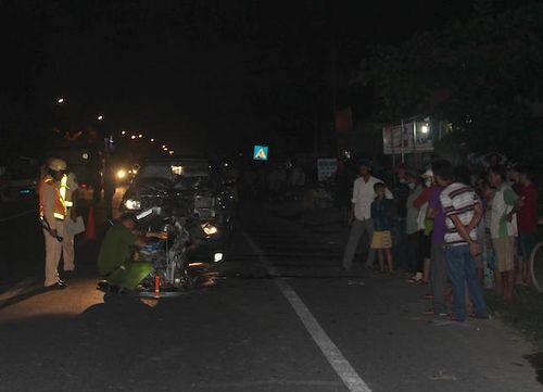 Tai nạn giao thông, đôi nam nữ tử vong ở Tiền Giang - Ảnh 1