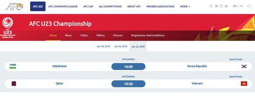Trận bán kết U23 Việt Nam và U23 Qatar diễn ra lúc 15h ngày 23/1 - Ảnh 1
