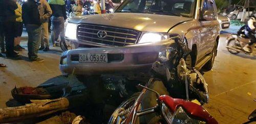 """Hành trình điên cuồng của """"xe điên"""" đâm bị thương 8 người ở Hà Nội - Ảnh 1"""