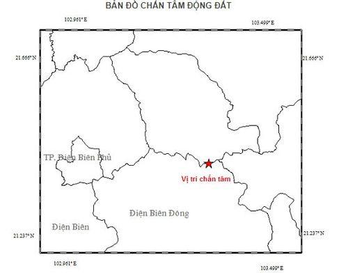 Động đất mạnh 3,9 độ richter tại Điện Biên - Ảnh 1
