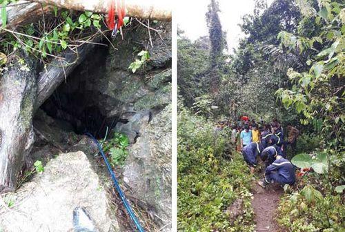 3 người đàn ông tử vong trong hang đá ở Thái Nguyên - Ảnh 1