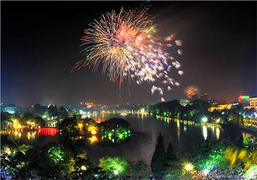 31 trận địa bắn pháo hoa đêm giao thừa ở Hà Nội - Ảnh 1