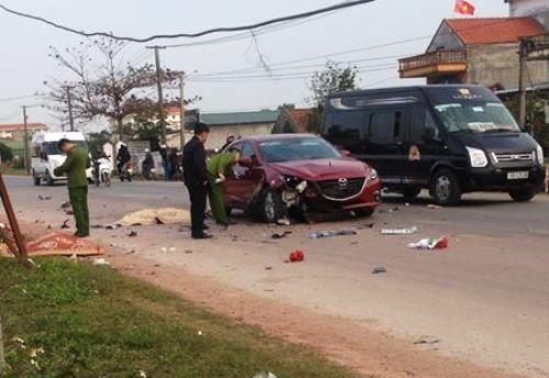 Tai nạn giao thông ở Quảng Ninh, 2 người chết thảm - Ảnh 1
