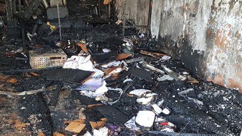 Ảnh khám nghiệm hiện trường vụ án mạng cháy biệt thự cổ, 5 người chết ở Đà Lạt - Ảnh 4