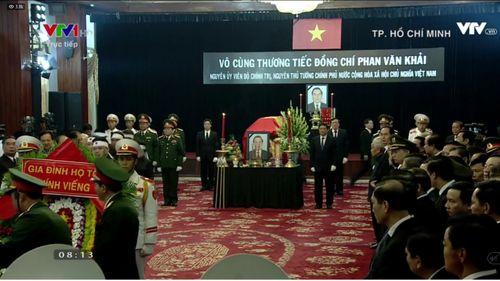 Lễ viếng nguyên Thủ tướng Phan Văn Khải - Ảnh 1