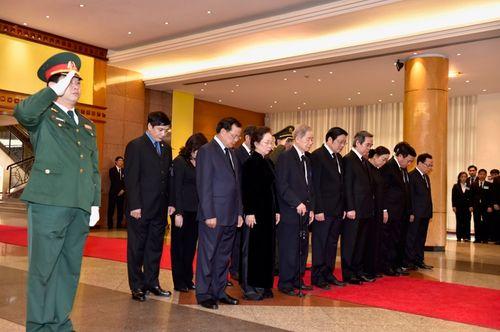 Lễ viếng nguyên Thủ tướng Phan Văn Khải - Ảnh 8