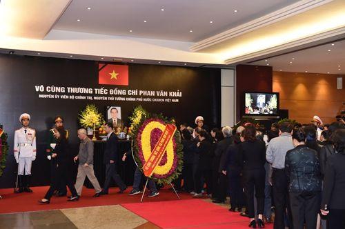 Lễ viếng nguyên Thủ tướng Phan Văn Khải - Ảnh 10