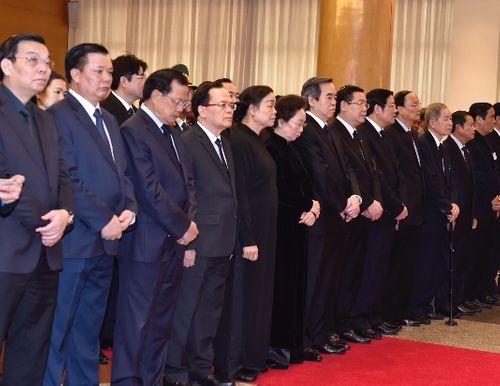 Lễ viếng nguyên Thủ tướng Phan Văn Khải - Ảnh 9