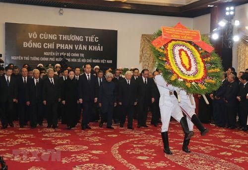 Hình ảnh Quốc tang nguyên Thủ tướng Chính phủ Phan Văn Khải - Ảnh 1