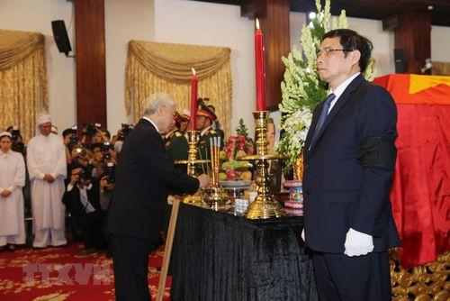 Hình ảnh Quốc tang nguyên Thủ tướng Chính phủ Phan Văn Khải - Ảnh 3