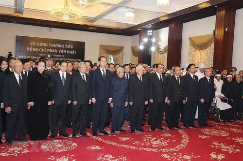 Hình ảnh Quốc tang nguyên Thủ tướng Chính phủ Phan Văn Khải - Ảnh 4