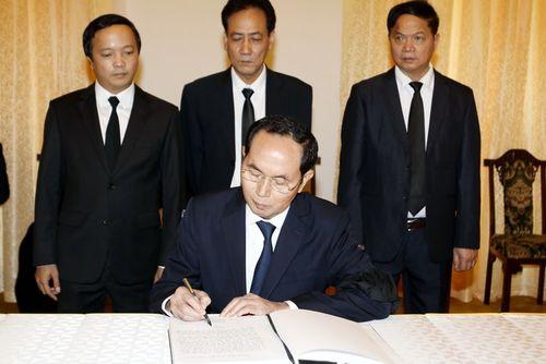 Hình ảnh Quốc tang nguyên Thủ tướng Chính phủ Phan Văn Khải - Ảnh 6