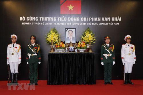 Hình ảnh Quốc tang nguyên Thủ tướng Chính phủ Phan Văn Khải - Ảnh 7