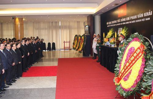 Hình ảnh Quốc tang nguyên Thủ tướng Chính phủ Phan Văn Khải - Ảnh 8