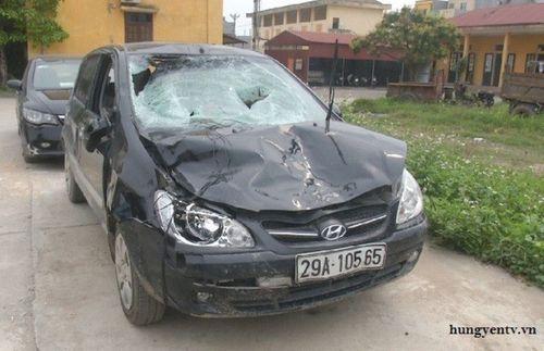 Tình tiết bất ngờ vụ xe ô tô của Chủ tịch xã gây tai nạn chết người - Ảnh 1