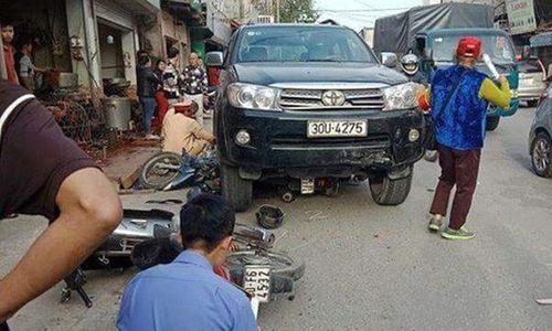 Hà Nội: Điều tra vụ tai nạn giao thông khiến bé 7 tuổi tử vong - Ảnh 1