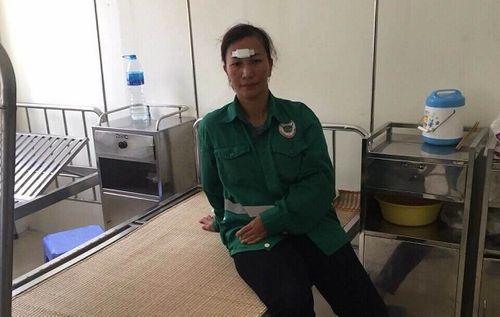 Hà Nội: Nữ công nhân vệ sinh môi trường bị đánh nhập viện - Ảnh 1