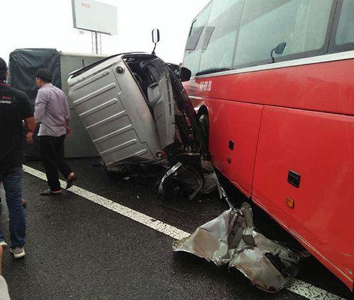 Tai nạn liên hoàn trên cao tốc TP.HCM - Trung Lương, 1 người tử vong - Ảnh 2