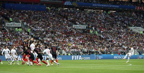 Hạ gục tuyển Anh, Croatia lần đầu đặt chân vào chung kết World Cup - Ảnh 1