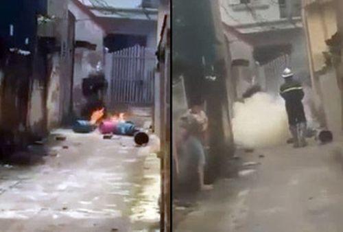 Hà Nội: Nghi án con rể mang 4 bình gas đến nhà bố mẹ vợ châm lửa đốt - Ảnh 1