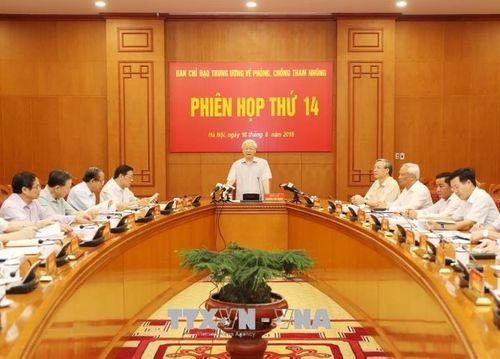 Phiên họp thứ 14 Ban Chỉ đạo Trung ương về phòng, chống tham nhũng - Ảnh 2
