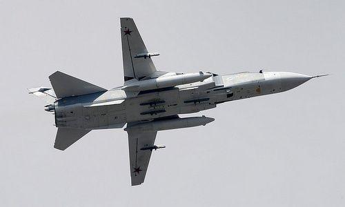 Nga bác tin 6 máy bay Su-24 bị tiêm kích Anh rượt đuổi trên Biển Đen - Ảnh 1
