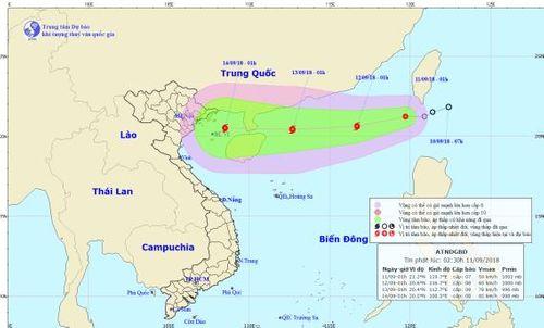 Áp thấp nhiệt đới giật cấp 10 có khả năng thành bão vào Biển Đông - Ảnh 1