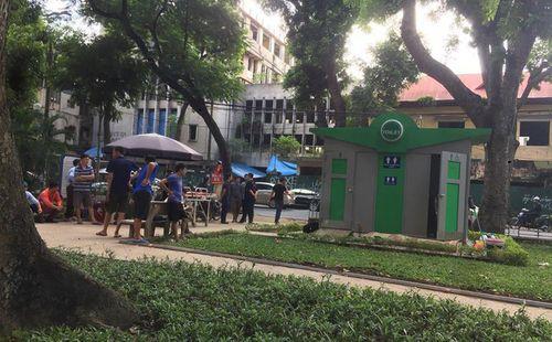 Hà Nội: Phát hiện thi thể nam thanh niên trong nhà vệ sinh công cộng - Ảnh 1