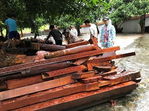 Hoàn tất tháo dỡ biệt phủ trái phép của đại gia vàng ở Đà Nẵng - Ảnh 1