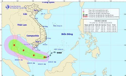Tin tức mới nhất cơn bão số 1 giật cấp 10 trên Biển Đông - Ảnh 1