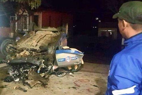 Lâm Đồng: Tài xế taxi say rượu tông xe máy, 3 người tử vong - Ảnh 1