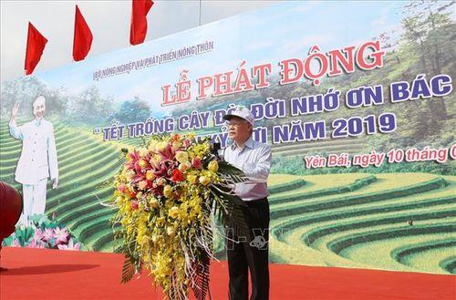 Tổng Bí thư, Chủ tịch nước Nguyễn Phú Trọng phát động 'Tết trồng cây đời đời nhớ ơn Bác Hồ' - Ảnh 1