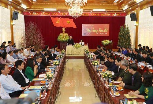Tổng Bí thư, Chủ tịch nước Nguyễn Phú Trọng phát động 'Tết trồng cây đời đời nhớ ơn Bác Hồ' - Ảnh 2