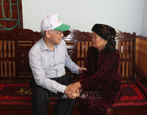 Tổng Bí thư, Chủ tịch nước Nguyễn Phú Trọng phát động 'Tết trồng cây đời đời nhớ ơn Bác Hồ' - Ảnh 3