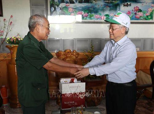Tổng Bí thư, Chủ tịch nước Nguyễn Phú Trọng phát động 'Tết trồng cây đời đời nhớ ơn Bác Hồ' - Ảnh 5