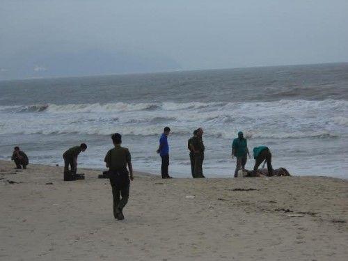 Xác chết không đầu dạt vào bờ biển Phú Quốc - Ảnh 1