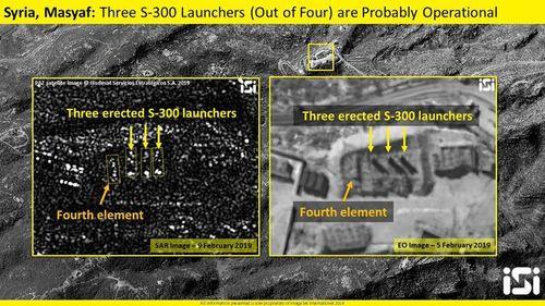 Tên lửa S-300 Syria sẵn sàng khai hỏa? - Ảnh 1