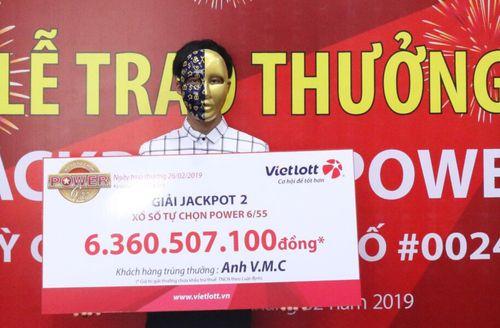 Nam thanh niên Sóc Trăng trúng vé số Vietlott hơn 6,3 tỷ đồng - Ảnh 1