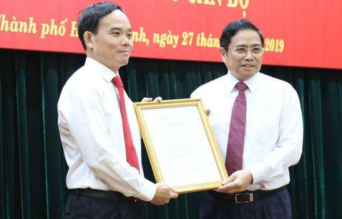 Ông Trần Lưu Quang giữ chức Phó Bí thư Thành ủy TP.HCM - Ảnh 1