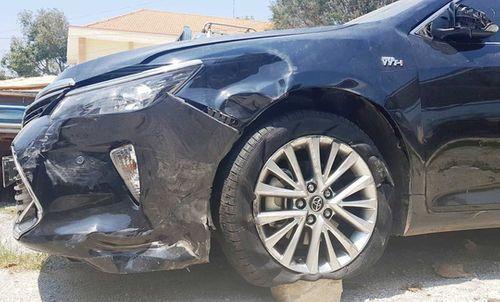 Xe ô tô chở Phó chánh án TAND huyện gây tai nạn rồi bỏ chạy - Ảnh 2