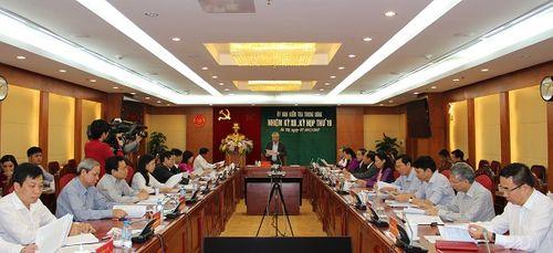 Thông cáo báo chí Kỳ họp 19 của Ủy ban Kiểm tra Trung ương - Ảnh 1