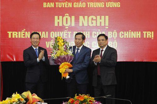Triển khai Quyết định nhân sự của Bộ Chính trị, Ban Bí thư TƯ Đảng - Ảnh 1