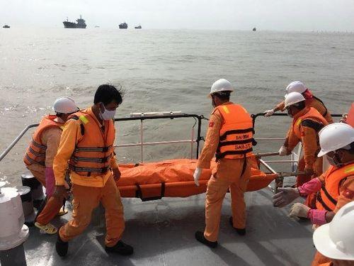 Tìm thấy thi thể 2 thuyền viên cuối cùng vụ chìm tàu cá trên biển Vũng Tàu - Ảnh 1