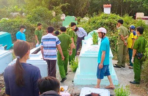 Bắt chồng cũ của người phụ nữ lén chôn con 5 tháng tuổi ở chùa - Ảnh 2