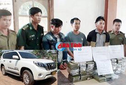 Lào - Việt phá chuyên án ma túy