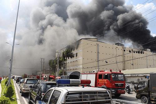 Công ty may bị cháy ở Cần Thơ do chập điện, bồi thường 18 triệu USD - Ảnh 1