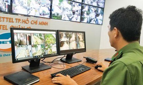 Gắn hơn 500 camera theo dõi tội phạm tại các điểm