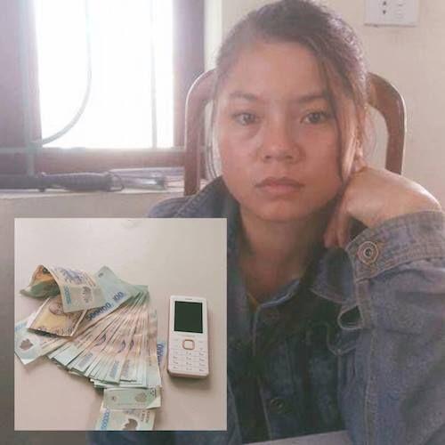 Cô gái cạy tủ nhà người quen trộm 21 triệu đồng rồi tạo hiện trường giả - Ảnh 1