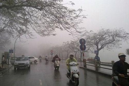 Không khí lạnh suy yếu, Hà Nội có mưa vài nơi - Ảnh 1